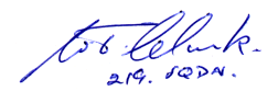 Autograph of Terry Clark